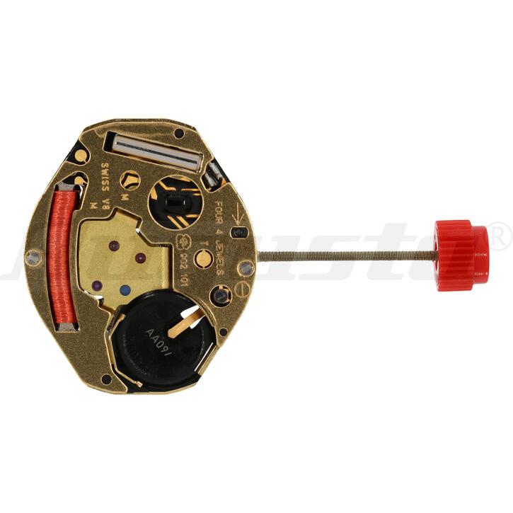 Armbanduhrwerk Quartz ETA 902.101 6 3/4 x 8 SC - H0,94 - SWISS MADE