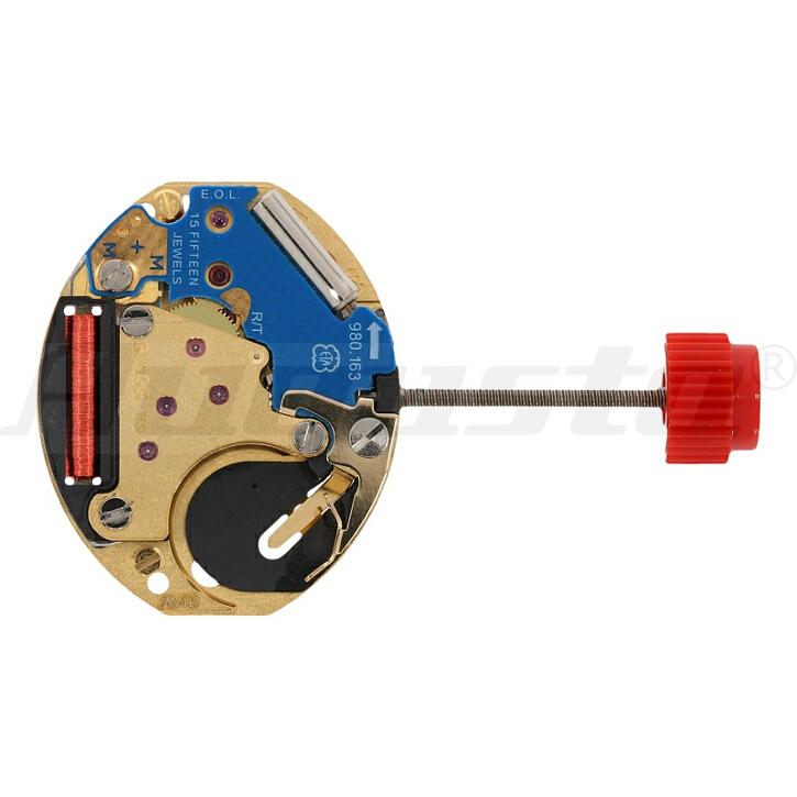 Armbanduhrwerk Quartz ETA 980.153 5 1/2 SS (H0,98) SWISS MADE