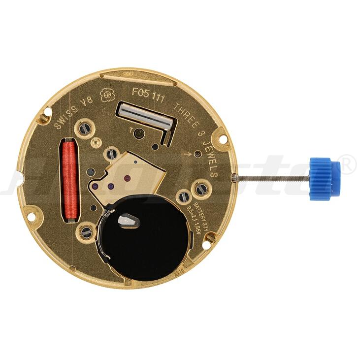 Armbanduhrwerk Quartz ETA  F05.111 10 1/2 SC CLD D6  SWISS MADE