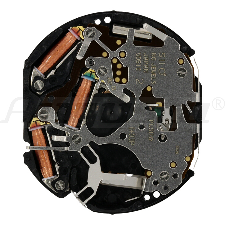 Armbanduhrwerk Quartz SHIOJIRI VD 51 12 3/4 SC CLD CHR D3