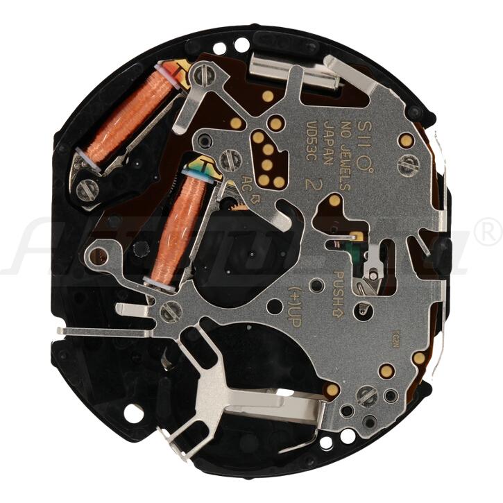 Armbanduhrwerk Quartz SHIOJIRI VD 53 C 12 3/4 SC CLD CHR 24H D4.5