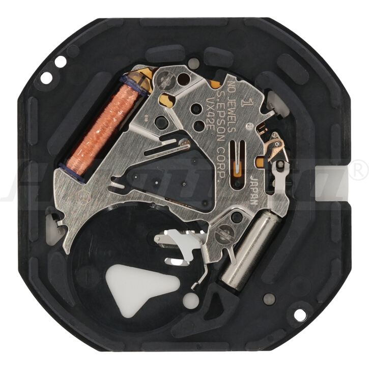 Armbanduhrwerk Quartz SHIOJIRI VX 42 E2 11 1/2 SC CLD D3 (H 1,05)