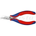 KNIPEX Flachzange, glatt, 115 mm, Form 1